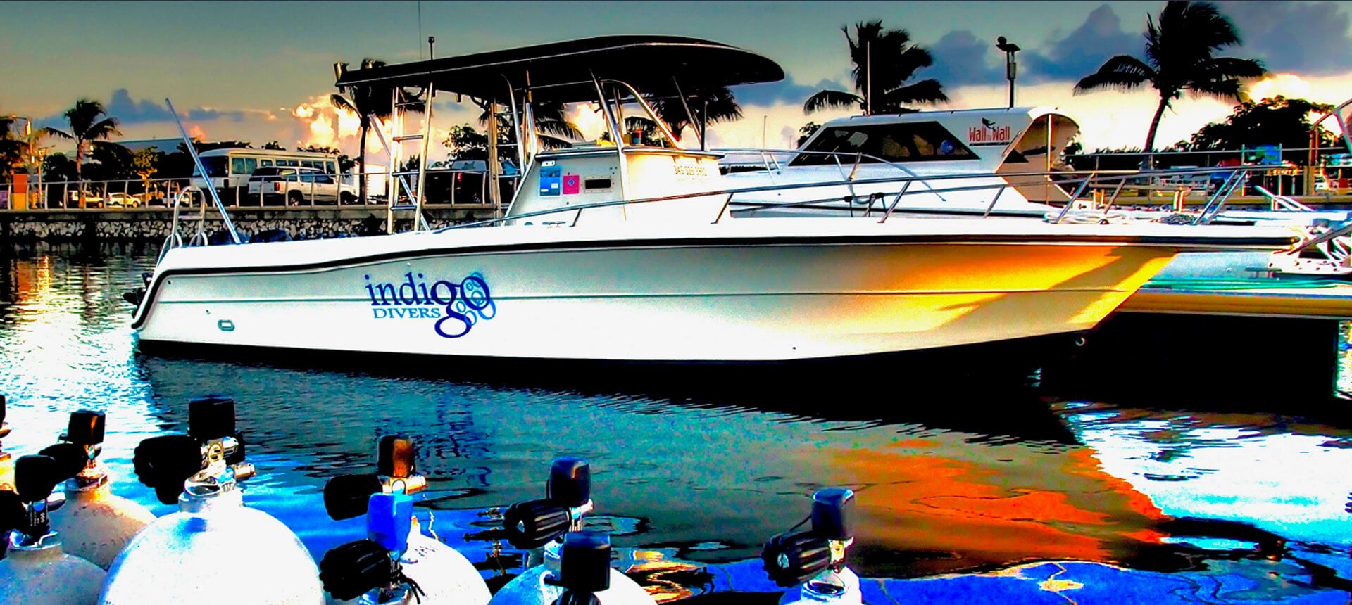 Indigo Divers Grand Cayman - Our Boats Image 1