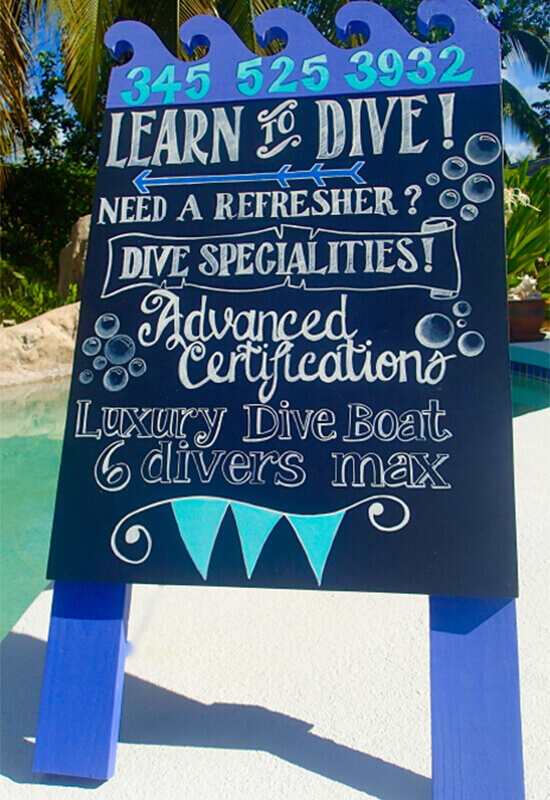 Dive Instruction And Padi Scuba Certification Course In Cayman
