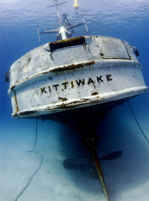Kittiwake wreck diving Grand Cayman - Indigo Divers