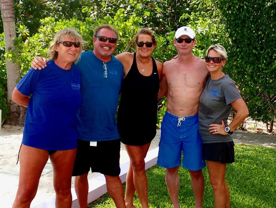 Kim, Chris, Laurie, Brian & Kate
